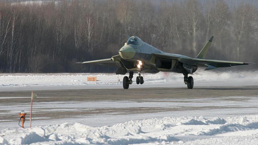 Американские СМИ: Новый российский истребитель в некоторых аспектах превосходит западные аналоги