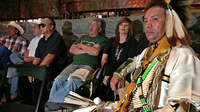 Индейцы США назвали строительство трубопровода рядом с их территориями «экологическим геноцидом»