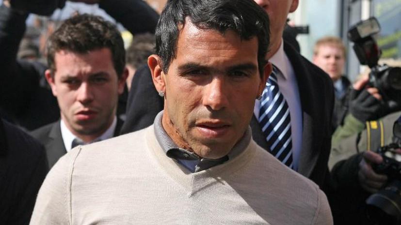 Футболист «Манчестер Сити» Карлос Тевес осужден на 250 часов общественных работ