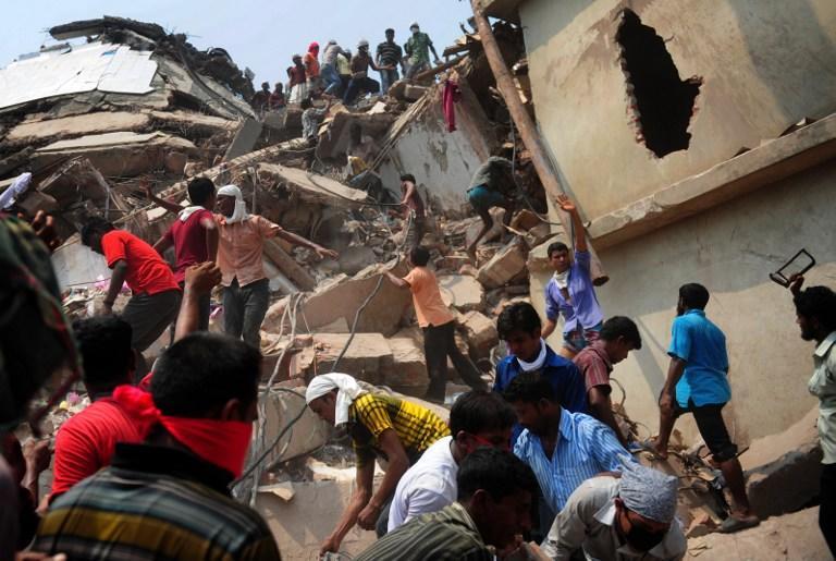 В Бангладеш арестованы владельцы рухнувшей фабрики