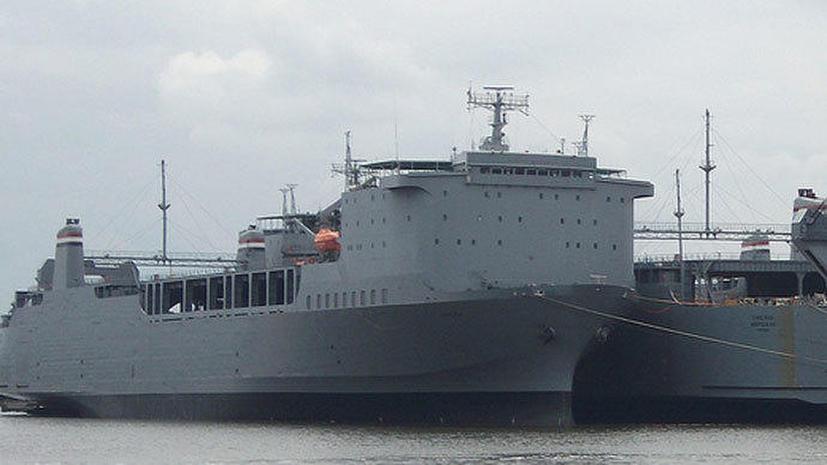 США готовятся к уничтожению сирийского химоружия на корабле Cape Ray