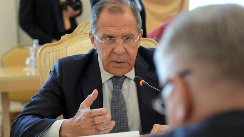 Сергей Лавров: Киеву следует отказаться от выдвижения ультимативных требований