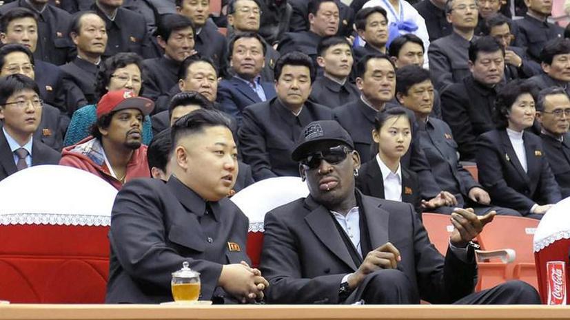Деннису Родману так понравилось общество Ким Чен Ына, что он проведет с лидером КНДР каникулы