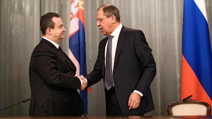 Глава МИД Сербии: Мы не станем вступать в ЕС в ущерб отношениям с Россией
