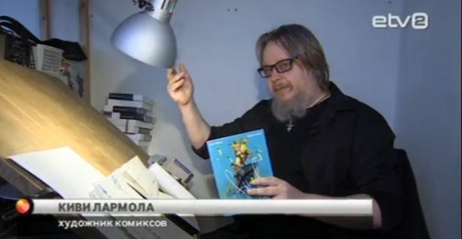 СМИ: Финский художник опубликовал комиксы по повести Гоголя «Шинель» на эстонском языке
