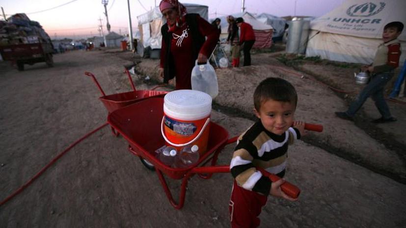 В Иордании не хватает питьевой воды для сирийских беженцев