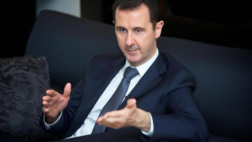 Башар Асад: Сирия будет выполнять условия соглашения по химическому оружию