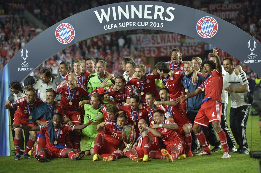 «Бавария» стала обладателем Суперкубка УЕФА