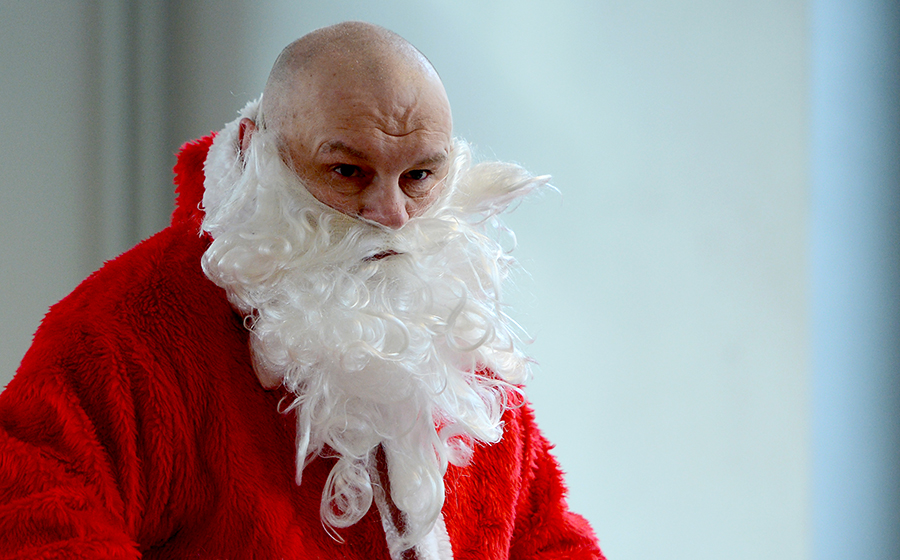 Британский Санта-Клаус не верит в чудеса
