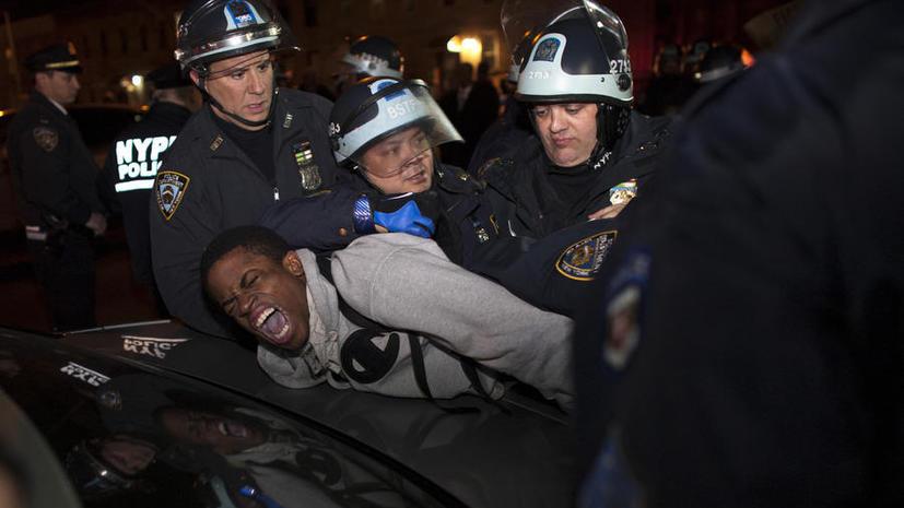 В Бруклине не утихают протесты против жестокости полиции