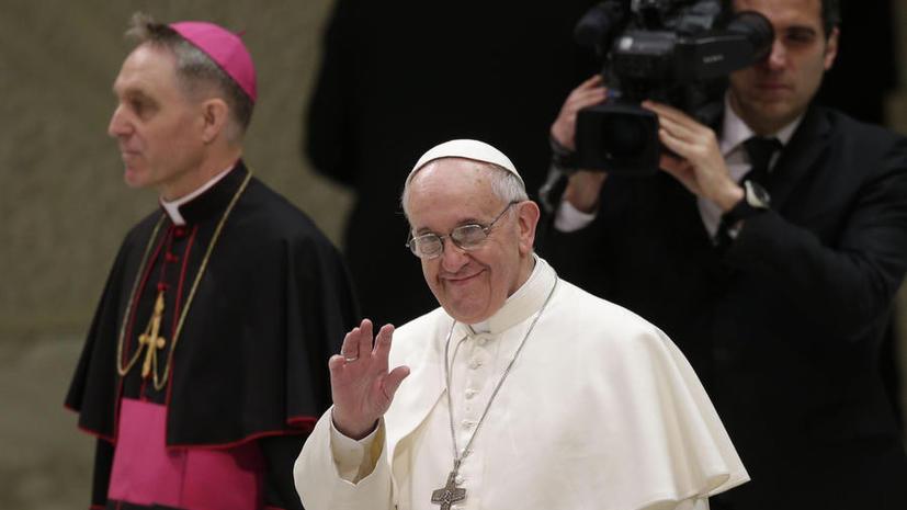 Папа Франциск обещает превратить католицизм в «бедную церковь для бедных»