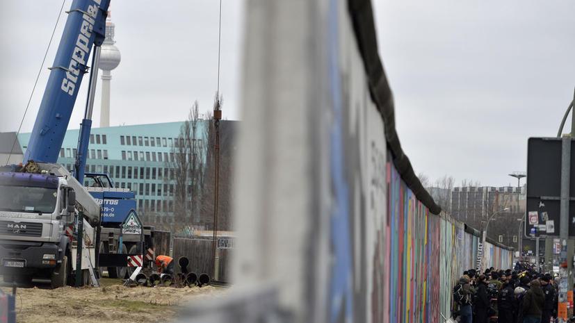 Галерею Берлинской стены демонтируют ради строительства многоэтажки
