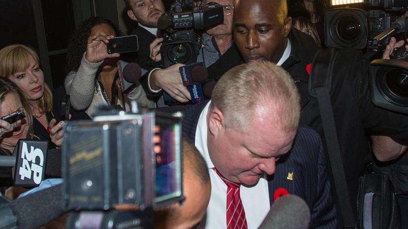 Корпорация «Форд» будет защищать свой бренд от сторонников оскандалившегося мэра Торонто