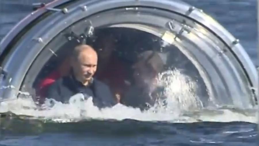 Путин предложил создать в России музей затонувших кораблей