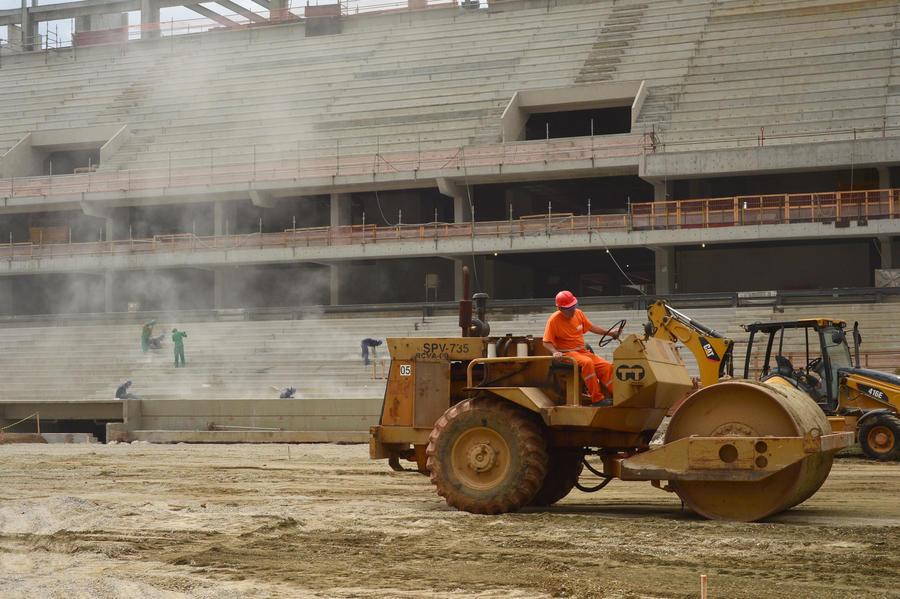 ФИФА: Один из бразильских стадионов не только не готов к Чемпионату мира по футболу, но даже опасен