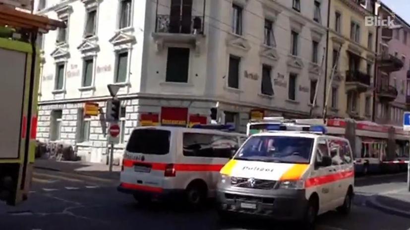 Неизвестный открыл стрельбу в центре Цюриха: есть пострадавшие