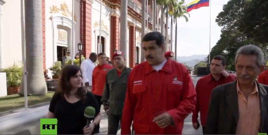 В эфире RT на испанском «Один день с президентом Венесуэлы Николасом Мадуро»