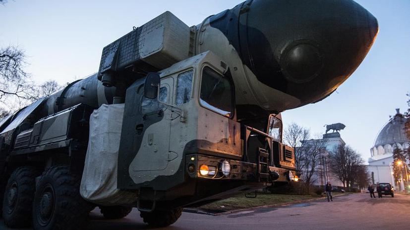 Вооружённые силы РФ провели тренировку системы управления