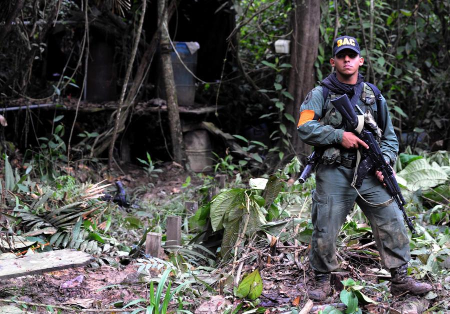 В Венесуэле сбит уже третий самолёт, предположительно перевозивший наркотики