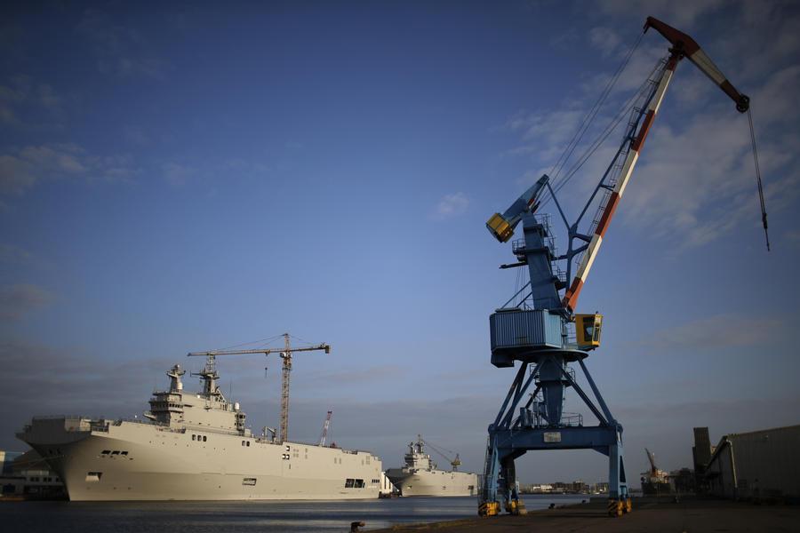 ВМФ: В России завершается формирование облика корабля, аналогичного «Мистралям»