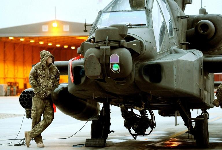 На юге Афганистана рухнул вертолет НАТО, погибли пять человек