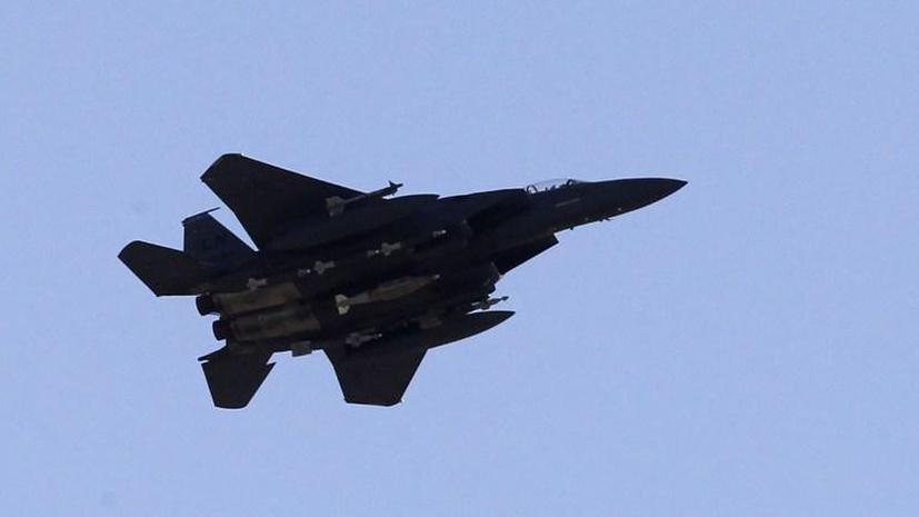 Истребитель ВВС США упал в море у берегов Японии