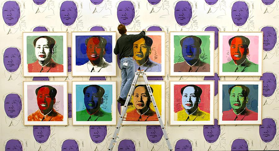 В Китае запретили портреты Мао в исполнении Энди Уорхола