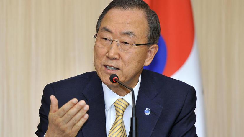 Пан Ги Мун: Преступники в Сирии должны быть преданы суду