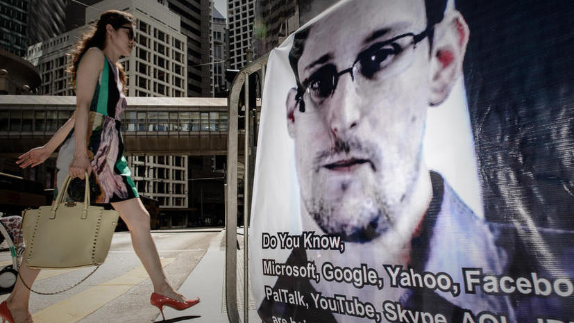 Эдвард Сноуден попросил у Исландии политическое убежище