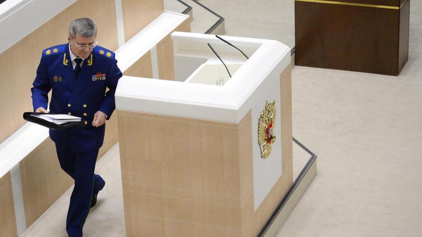 СМИ: Генпрокурор РФ Юрий Чайка сообщил о многомиллиардных хищениях в сфере военно-научных разработок