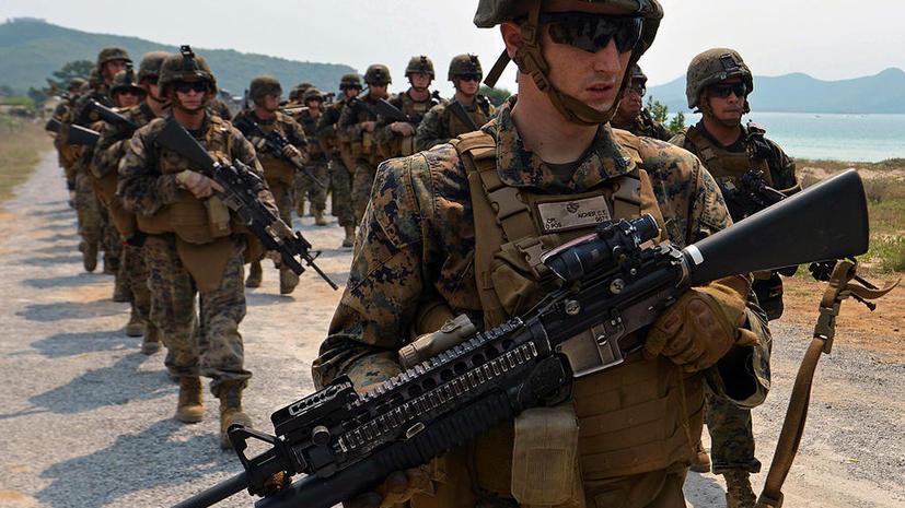 Морские пехотинцы США грозятся бросить службу, если женщины примут участие в боях
