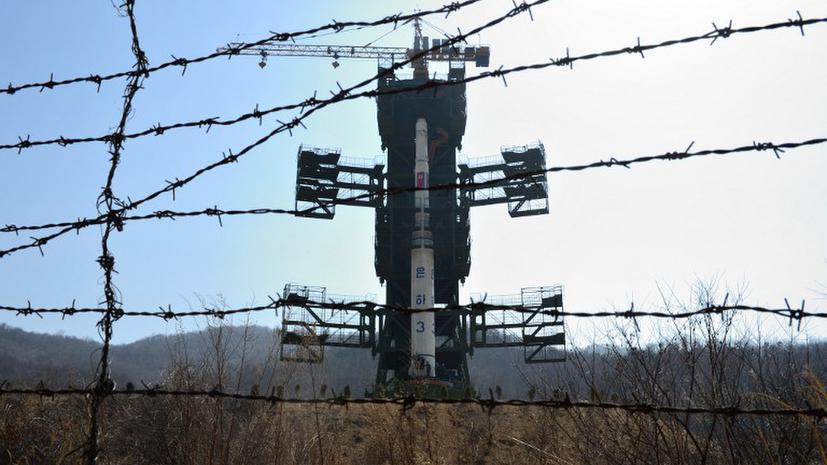 Южная Корея: запуская ракету, КНДР пытается повлиять на исход выборов