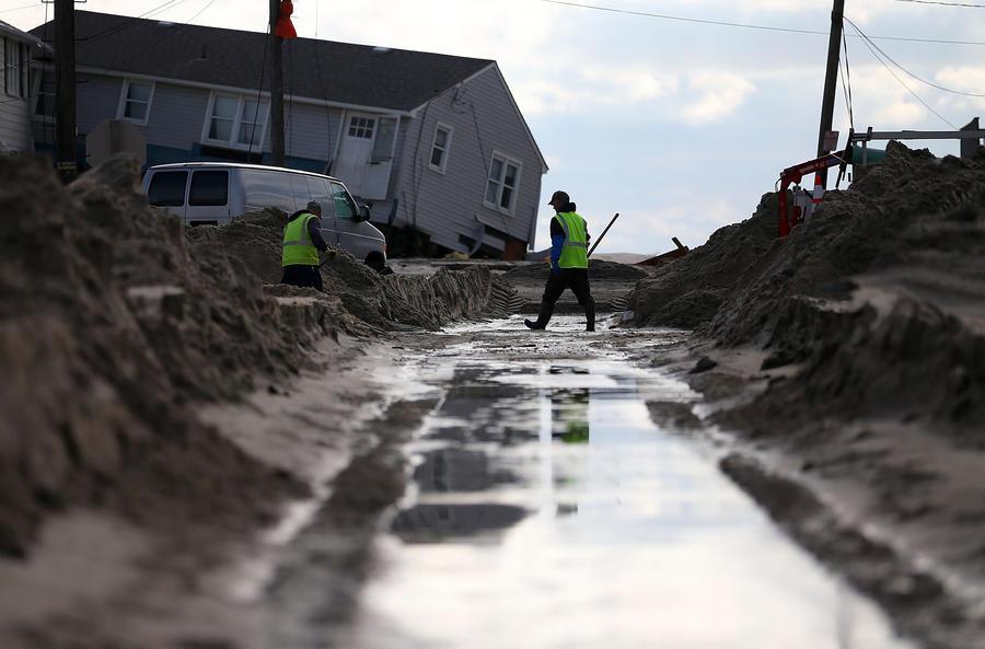 Сэнди-бум: через девять месяцев после урагана рождаемость в Нью-Йорке резко вырастет