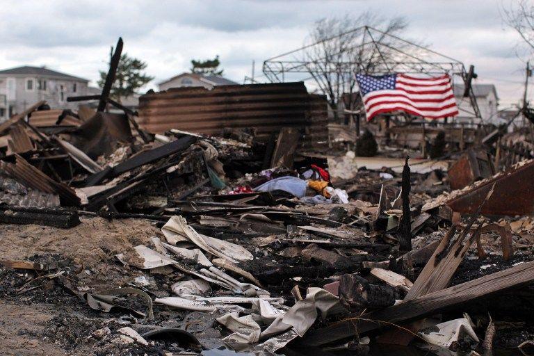 Конгресс США одобрил выделение $50 млрд пострадавшим от урагана «Сэнди»