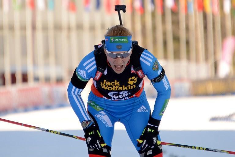 Ольга Зайцева завоевала серебро на старте сочинского этапа Кубка мира по биатлону