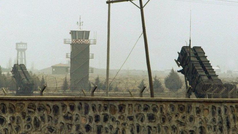 Турция развернула еще две батареи «Пэтриот» на границе с Сирией