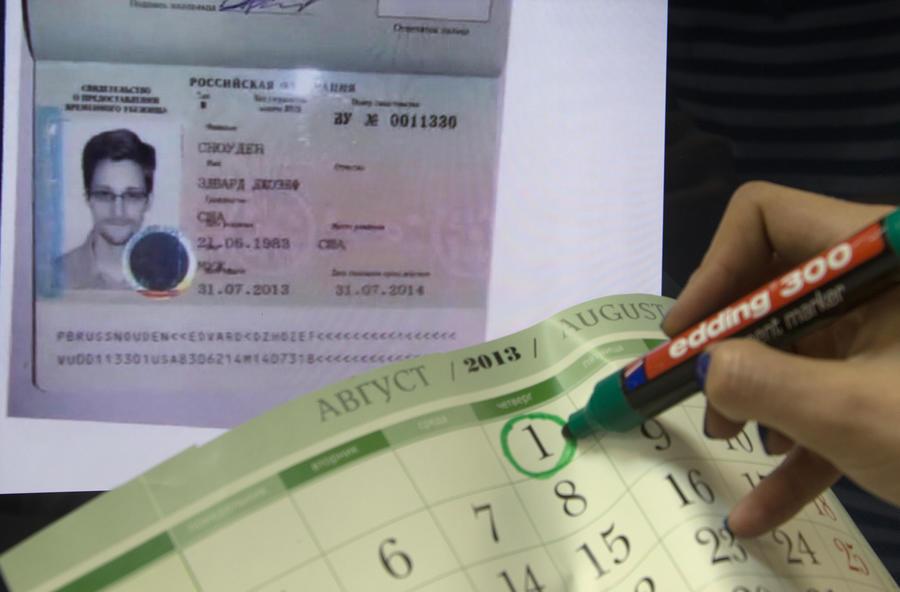 УФМС: На территории РФ Сноуден может работать везде, кроме госслужбы