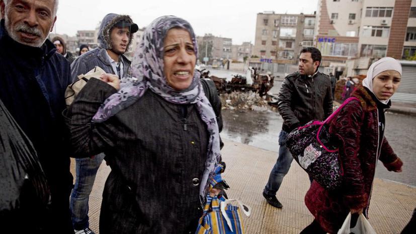 Ливан согласился официально принимать сирийских беженцев