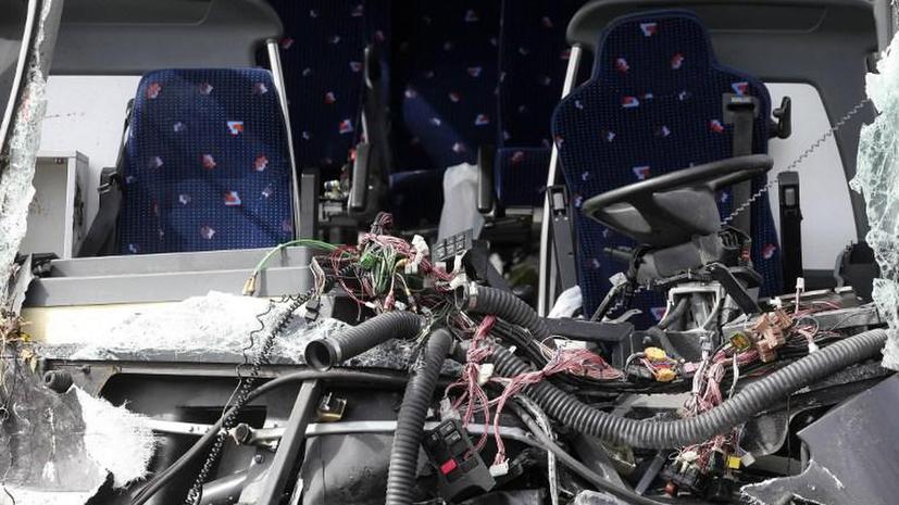 В Бельгии разбился автобус с российскими школьниками, четверо погибших