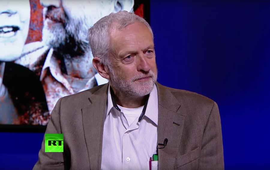 Британские СМИ раскритиковали лейбориста Джереми Корбина за появление в эфире RT
