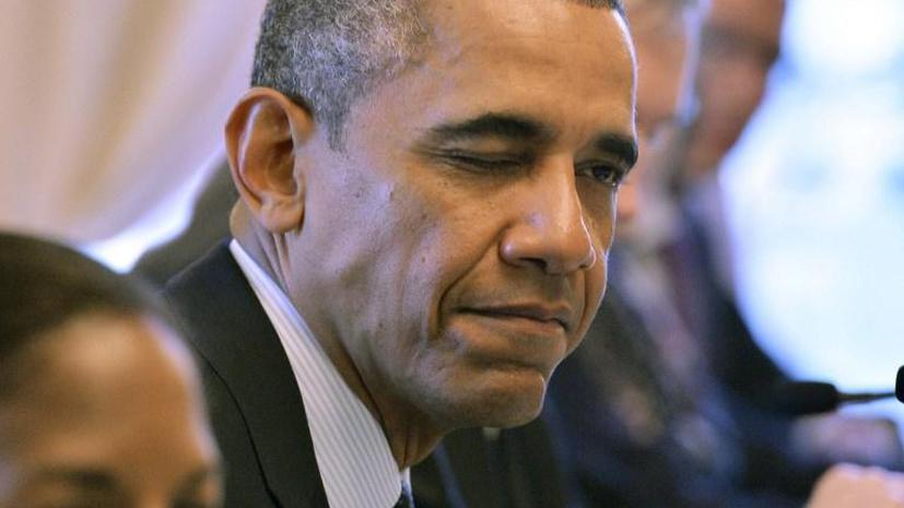 Белый дом: решение по Сирии Барак Обама примет после консультаций с конгрессом