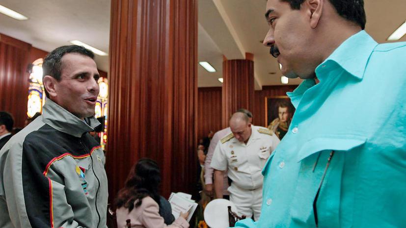 Президентская гонка в Венесуэле: Мадуро против Каприлеса