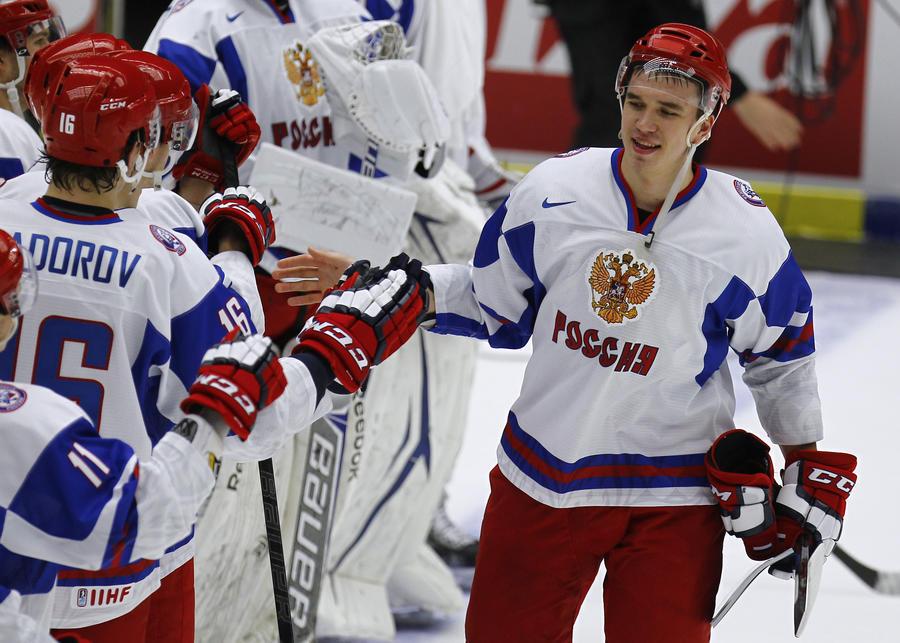 Молодёжная сборная России вышла в полуфинал Чемпионата мира по хоккею