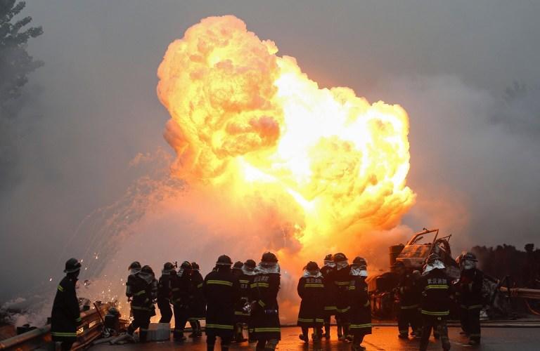 На химическом заводе в Китае произошёл взрыв метанола