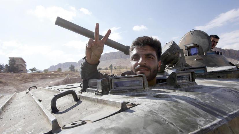 Cирийские войска проводят крупную операцию к югу от Дамаска
