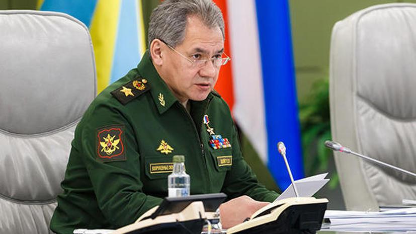 Сергей Шойгу: Число контрактников в 2015 году впервые превысило число призывников