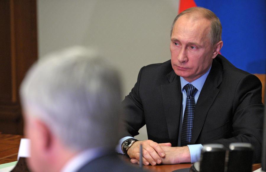 Владимир Путин: Высокоточное оружие сегодня становится альтернативой ядерному