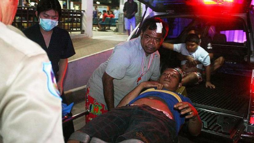 Два человека погибли в результате нападений на участников массовых демонстраций в Таиланде