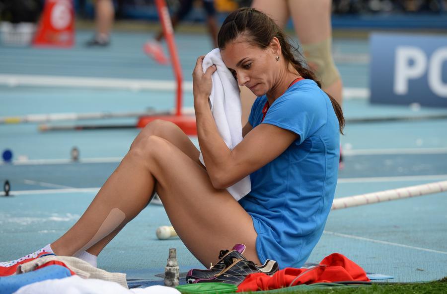 На московском Чемпионате мира Елена Исинбаева совершит последний прыжок перед перерывом в спортивной карьере