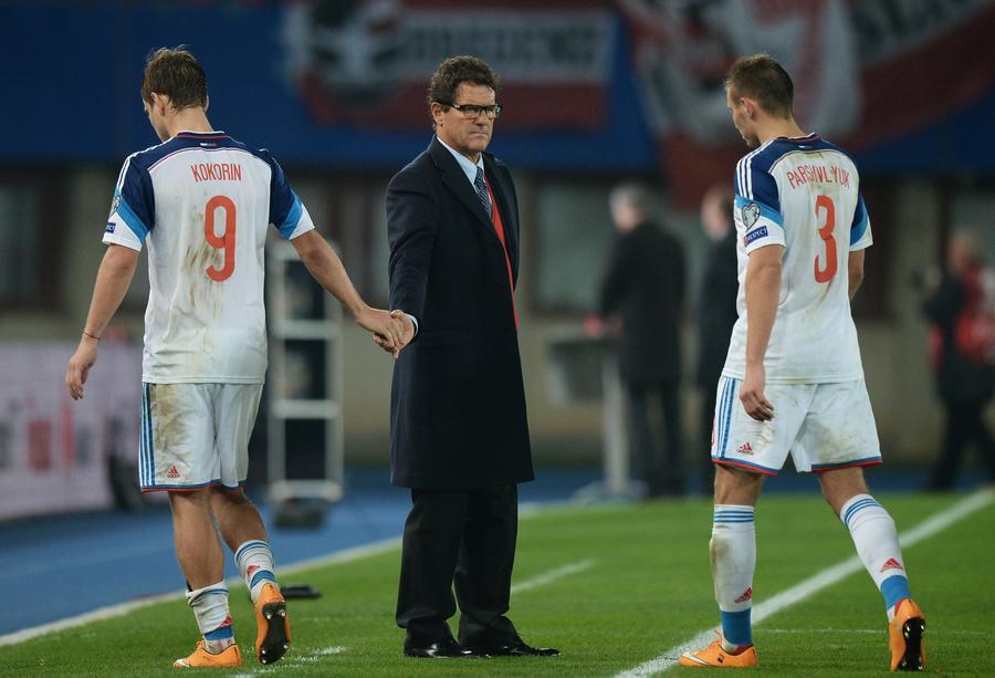 Сборная России с минимальным счётом уступила команде Австрии в отборочном матче ЧЕ-2016